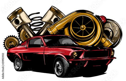 componenti automobile