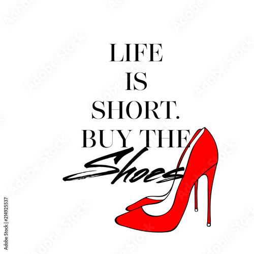 zycie-jest-krotkie-kupic-buty-t-shirt-z-recznie-rysowane-czerwone-buty-obcasy-fancy-plakat-z-czerwonymi-szpilkami-dla-kobiet-dziewczecy-elementy-na-bialym-tle-nowoczesne-kreatywne-tapety