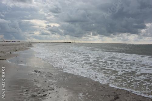 Aluminium Noordzee Nordsee Abenddämmerung