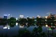 上野 不忍池 夜景