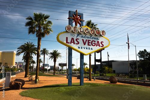 Foto Spatwand Las Vegas Welcome Sign Las Vegas