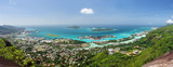 Panoramique de Mahé, Seychelles. © Prod. Numérik