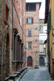 street in the town of lucca