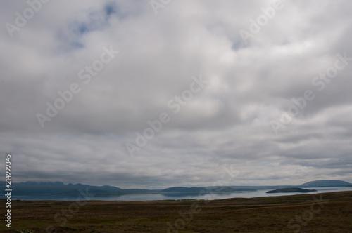 Fotobehang Donkergrijs Bonita paisagem natural da Islândia