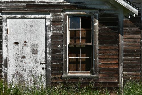 Foto Murales Old Wooden Door and Windows