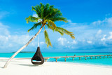 tropical beach in Maldives - 215040179