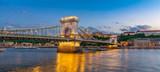 Chain Bridge (panoramic early blue hour)