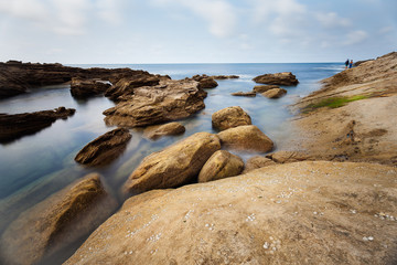 Landscape of rocks and sea © Alvaro