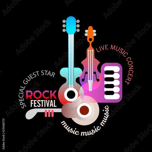 In de dag Abstractie Art Rock Music Festival