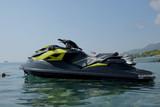 Jet ski on the seaside. - 215095598