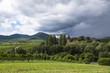 Leinwanddruck Bild - Landschaft in der Südpfalz