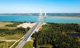 Luftbild: Pont de Normandie - Autobahn A29 Frankreich