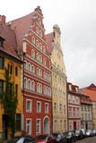 Historische Häuserzeile - 215138771