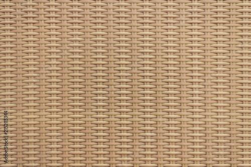 Wiklina tekstura zasobów graficznych. Tan brązowy utkany wikliny.