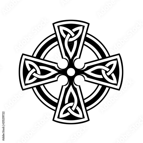 Celtic Cross Symbol On White Background Buy Photos Ap Images