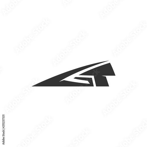 GT badge vector, GT emblem design