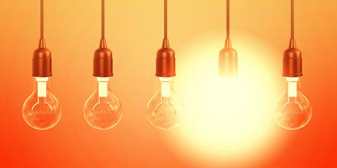 Lightbulb Background © kentoh