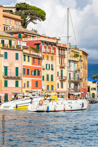 In de dag Liguria Portofino, village de Ligurie, Italie