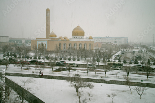 Foto Murales Снежное утро