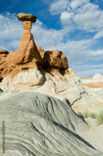 Geological formation hoodoos in Escalante Grand Staircase National monument, Southwest USA