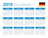 Calendar 2019 - German Version - 215361387