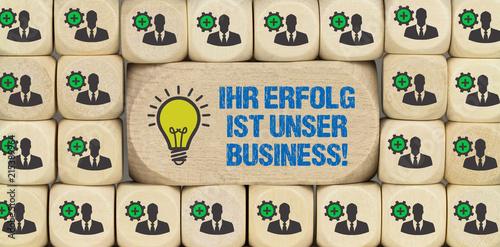 Foto Murales Ihr Erfolg ist unser Business!