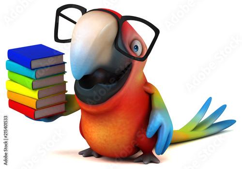 Poster Fun parrot