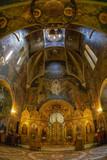 Inside SF. NICHOLAS church, Bucharest, Romania - 215417582