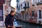 A man in Venice,