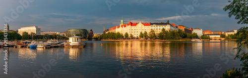 Summer evening in Helsinki, Finland - 215431336