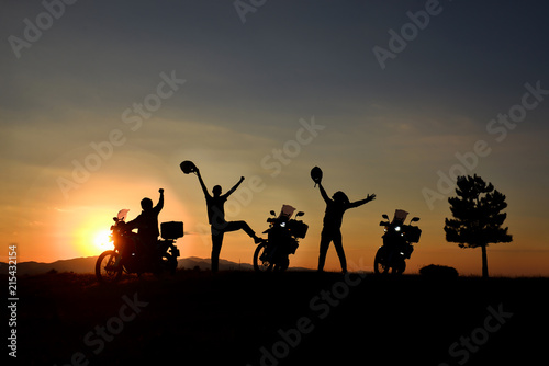 motorcycle travel and team success