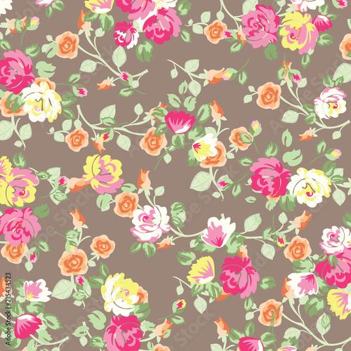 Floral pattern design - 215434523
