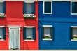 Colorful Burano closeup