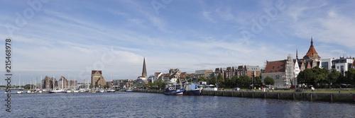 Rostock cityscape, Germany - 215468978