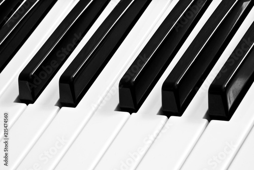 piano keyboard - 215474560