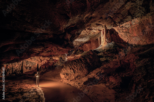 Plexiglas Diepbruine Baradla Cave