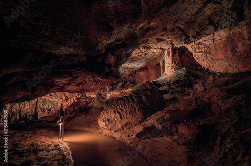 Foto Spatwand Diepbruine Baradla Cave