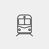 trolleybus Vector Icon