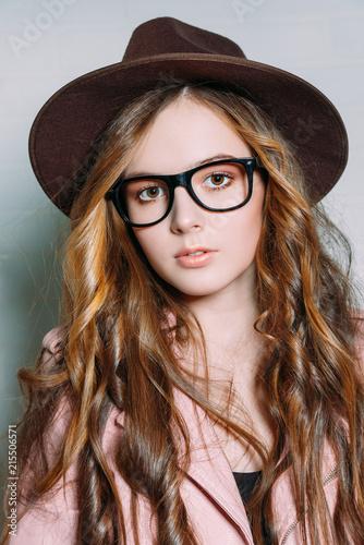 Leinwandbild Motiv female fashionable accessories