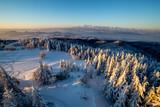 Górska panorama, z lubania w gorcach