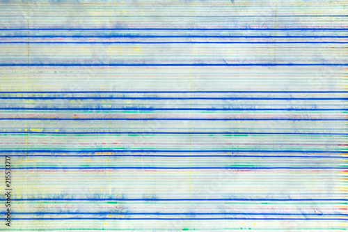 Abstract background, horizontal blue lines faded