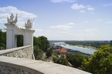The view from Bratislava castle