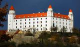 Image of medieval Bratislava Castle, part of history Slovakia