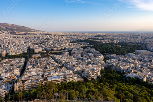 Athens from Likabetus Hill, Greece