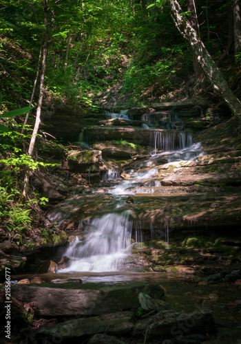 Aluminium New York Buttermilk Falls State Park
