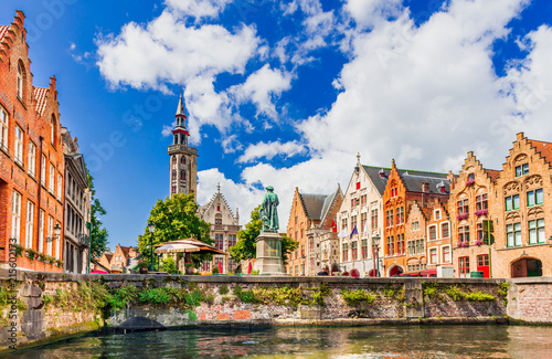 Foto Spatwand Brugge Bruges, Belgium