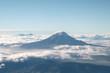 Leinwandbild Motiv aerial view of Chimborazo volcano, Ecuador.