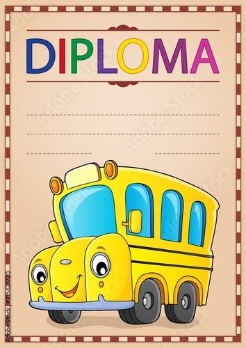 Canvas Voor kinderen Diploma design image 2