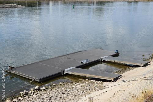 Aluminium Pier Badeplattform
