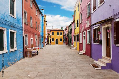 Leinwanddruck Bild Burano, Venice, Italy